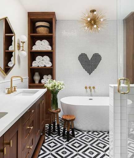 Аксессуары для ванной комнаты: советы по выбору и применению в дизайне стильных и простых аксессуаров | Интересные фото решения