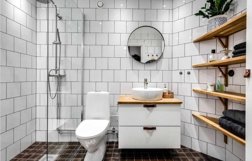 Белая плитка | Лучшие интерьерные решения в реальных интерьерах и красивые проекты с использованием белой плитки