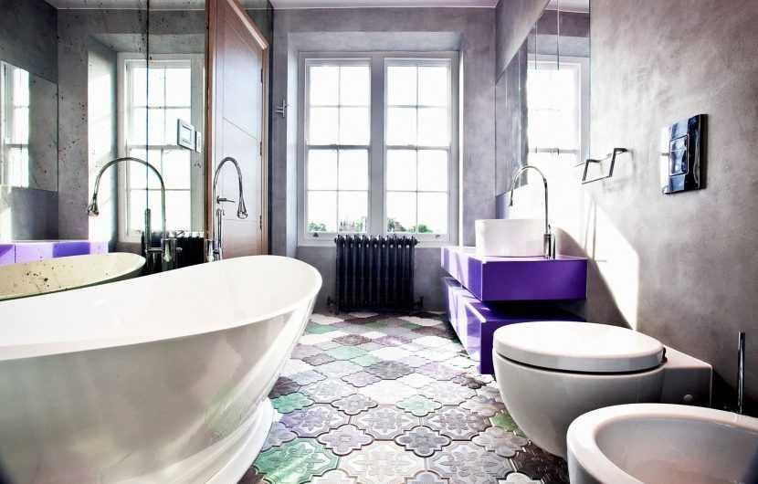 Цвет плитки в ванной — как выбрать, сочетать и использовать правильно плитку в ванной комнате (185 фото )
