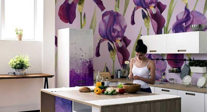 Фотообои на кухню: выбор и советы по применению фотообоев в дизайне интерьера. 145 фото и описание применения