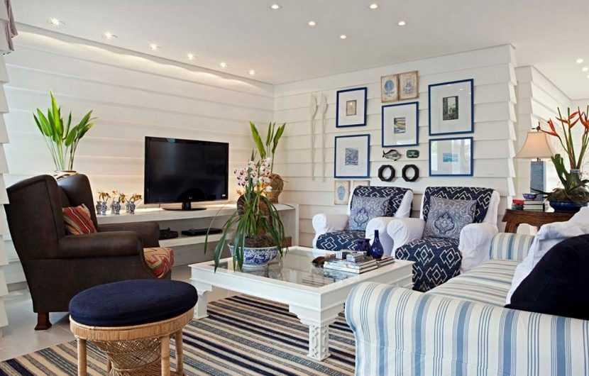 Гостиная в частном доме — пошаговое описание как создать необычно стильный интерьер гостиной