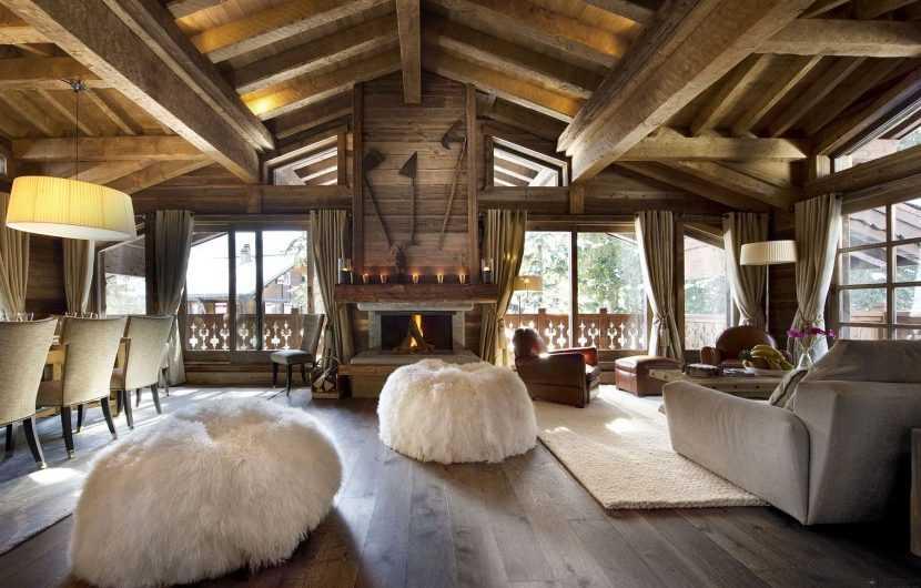 Интерьер деревянного дома: реальные фото стильных решений и мастер-класс применения лучших идей интерьера