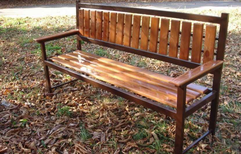 Как сделать скамейку: простые и оригинальные варианты изготовления скамеек. Фото лучших проектов и их реализация