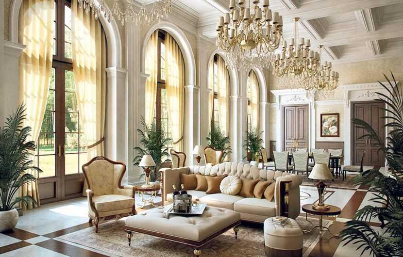 Красивые гостиные — описание стильных и оригинальных решений для модных гостиных