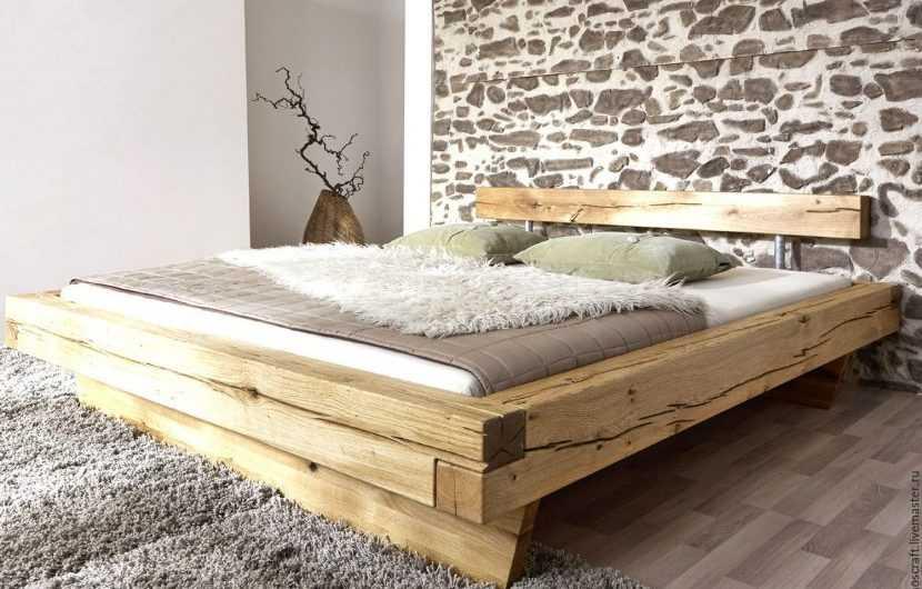 Кровать своими руками — описание как сделать удобную и практичную кровать из разных материалов