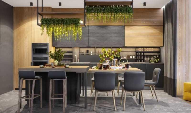 Новинки дизайн кухни 2020 года: 165 фото современных трендов и особенностей оформления кухни
