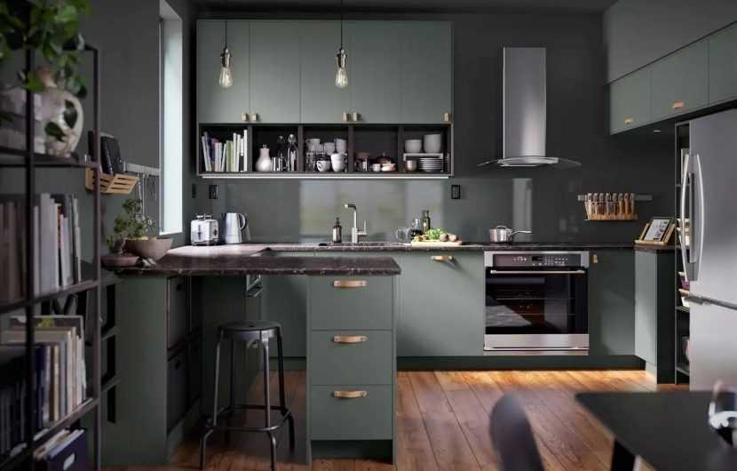 Кухни ИКЕА — Примеры и советы дизайнеров по оформлению кухни. 175 фото лучших проектов из последних каталогов