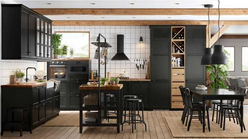 Кухни IKEA 2020 года: советы по выбору лучших вариантов комплектов и обзор актуальных моделей от ИКЕА (185 фото)