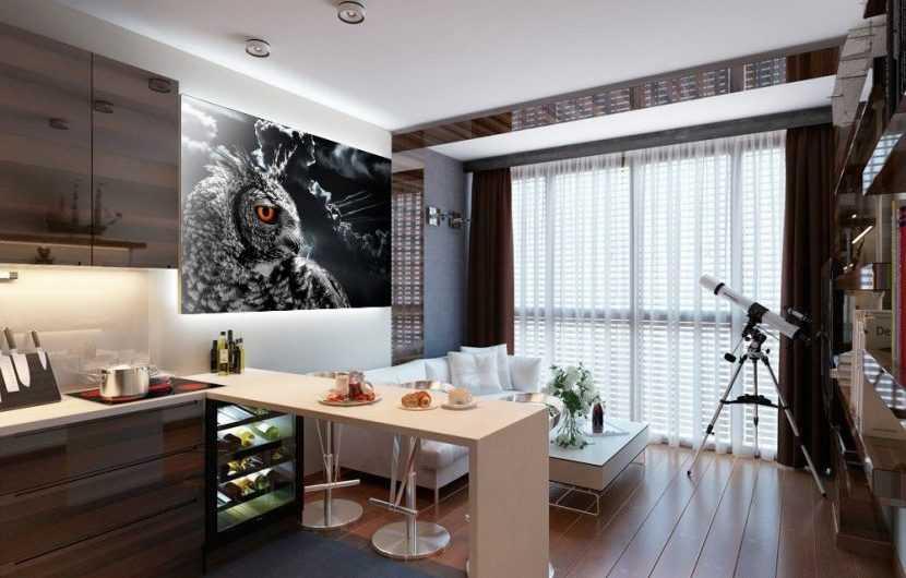 Кухня совмещенная с гостиной: лучшие интерьерные решения и особенности сочетания стиля и дизайна