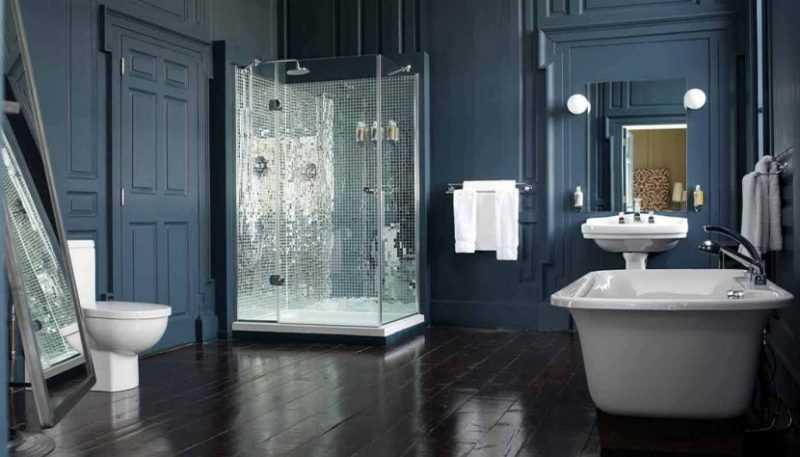 Мебель для ванной комнаты — реальные фото типичных интерьеров и примеры креативных ванных комнат