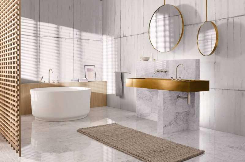 Новинки дизайна ванной комнаты 2020 года — модные тренды, тенденции и современные варианты развития дизайна ванной (175 фото)