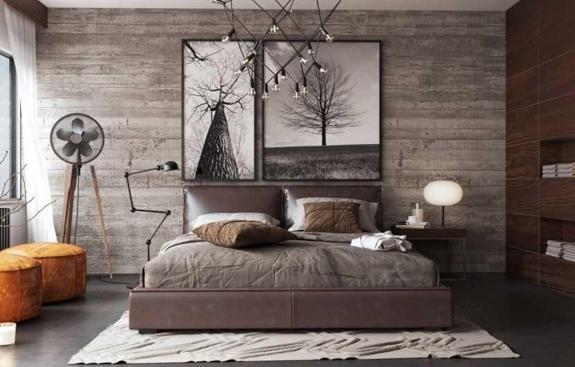 Современная спальня — 185 фото и подробное описание как создать красивый современный стиль в спальной комнате