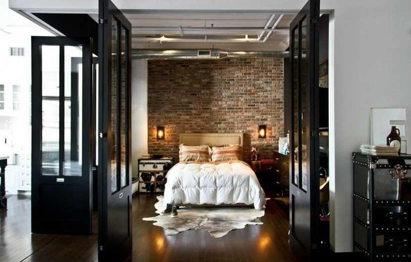 Спальня в стиле Лофт — идеальные сочетания и лучшие варианты применения стиля для спальни