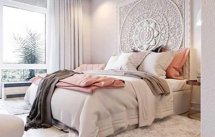 Светлая спальня — самые красивые примеры стильных и оригинальных вариантов оформления спален