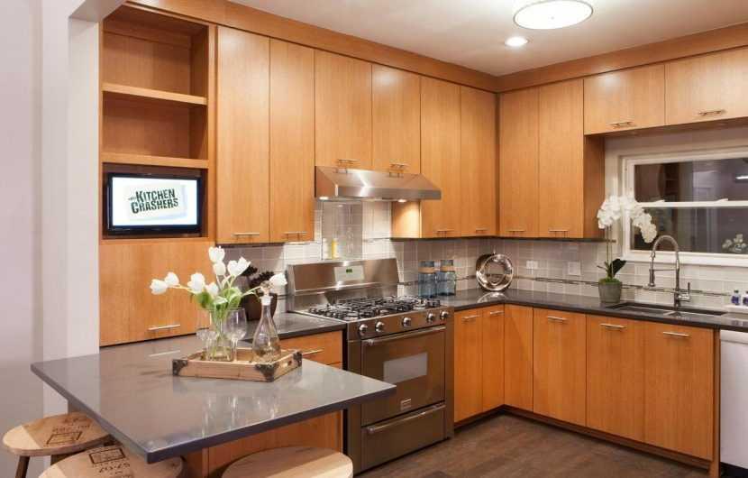 Угловая кухня — фото инструкции и обзор реальных примеров современных вариантов оформления кухни углового типа