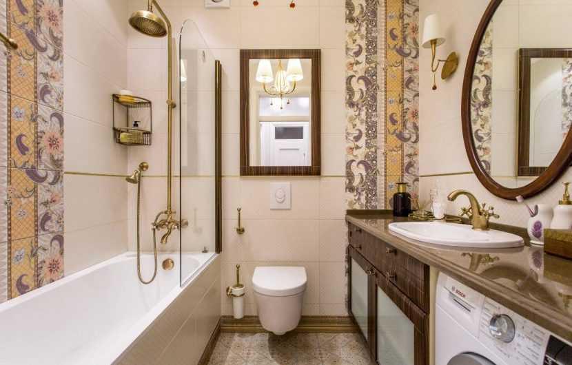 Ванная 5 кв. м.: грамотные современные проекты и особенности их оформления в актуальном стиле