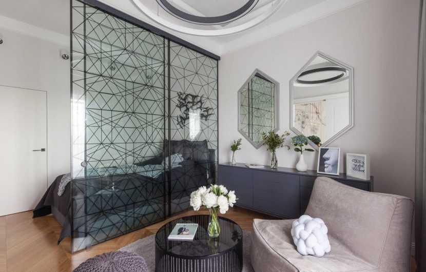 Зонирование гостиной — лучшие варианты планировки. Современные решения от дизайнеров (фото + инструкции)