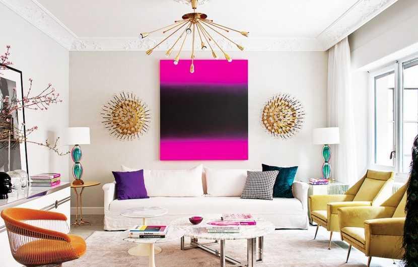 Сочетание цвета в интерьере: основные правила выбора цвета и оригинальные решения по применению цвета в интерьере